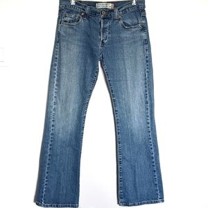 Levi's 513 jeans button fly slouch bootcut